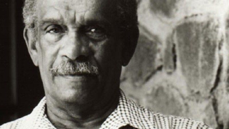 El poeta santalucence, Derek Walcott