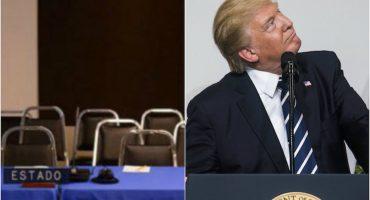 Trump los deja plantados: Estados Unidos falta a audiencia con la CIDH
