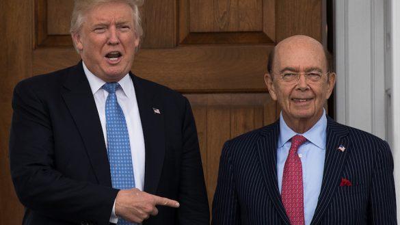 Donald Trump y Wilbur Ross