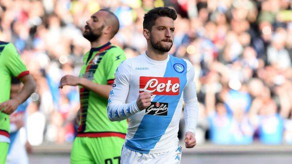 Dries Mertens, jugador del Napoli