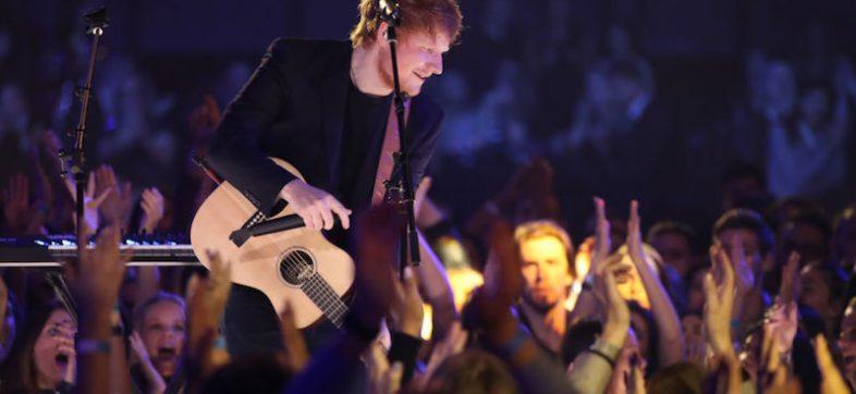 Ed Sheeran en las canciones más escuchadas por mujeres a nivel mundial