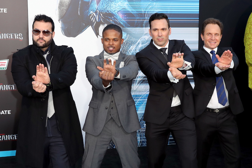 Actores de los Power Rangers
