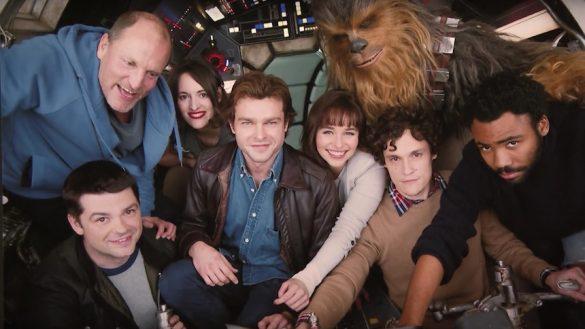 El elenco del filme de Han Solo