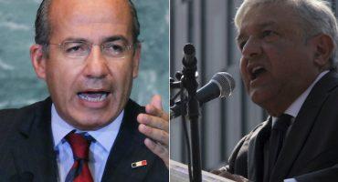 Calderón vs AMLO: tras ser acusado de corrupción, expresidente reta al tabasqueño a debate