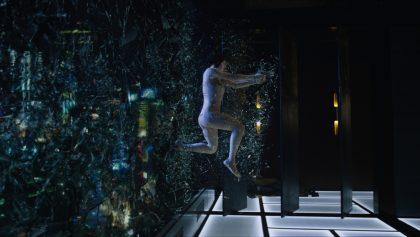Scarlett como Mayor de Ghost in the Shell