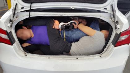Auto-Sardina: arrestan a hijo de Pepe Aguilar por tratar de cruzar chinos a EEUU