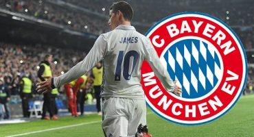 James Rodríguez se marcha al Bayern Munich