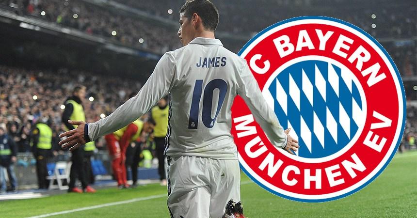 James Rodríguez al Bayern Múnich