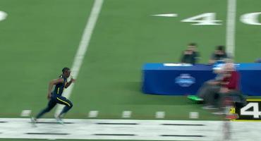 ¡John Ross rompió el récord de las 40 yardas en el NFL Combine!