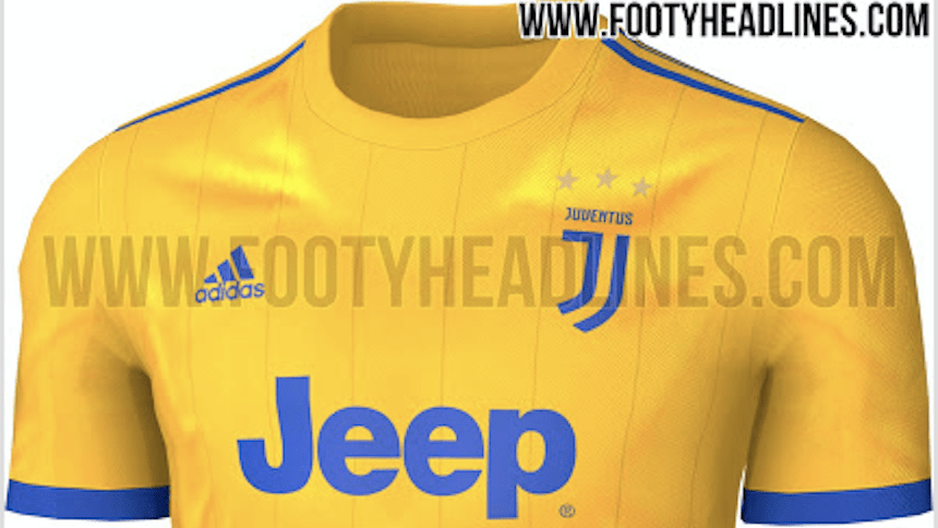 uniforme Juventus nuevas