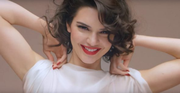 Kendall Jenner como Marilyn Monroe