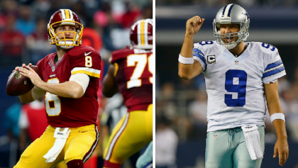 ¿Tony Romo a Washington y Kirk Cousins a San Francisco?