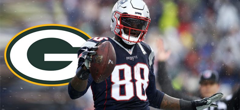 Martellus Bennett, ala cerrada de los Packers