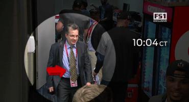 Video sin censura de Mauricio Ortega robando el jersey de Tom Brady