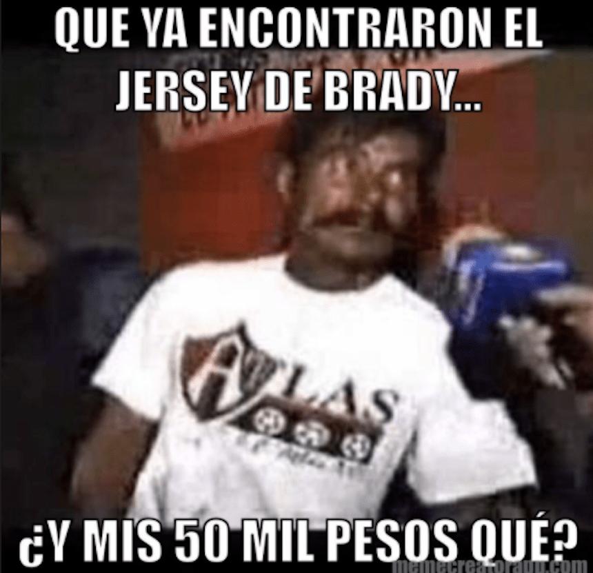 meme robo jersey brady