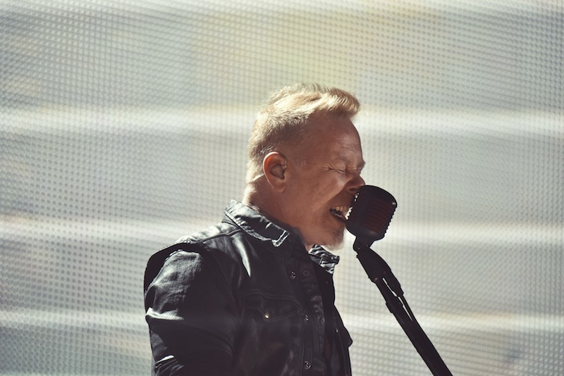 "Metallica toca ""Tv Eye"" con Iggy Pop."