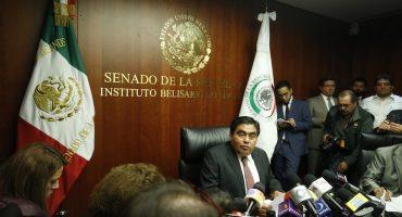 Miguel Barbosa renuncia a coordinación de senadores del PRD