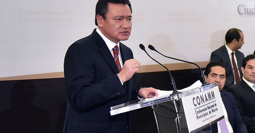 Miguel Osorio Chong, titular de la Segob