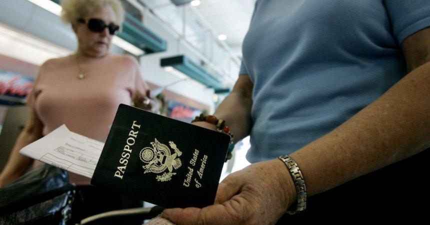 Pasaporte Unión Europea Estados Unidos