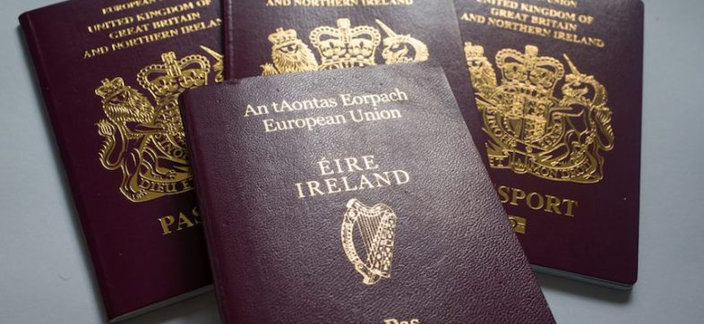 Pasaportes de Irlanda