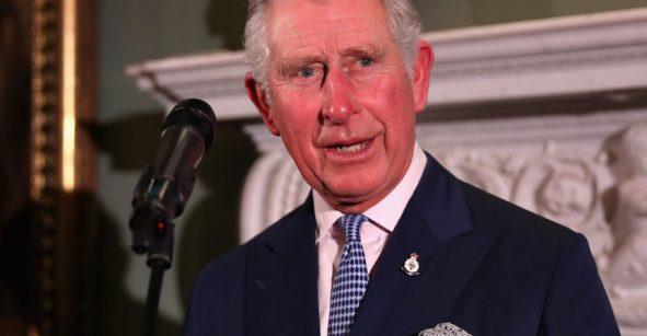 El príncipe Carlos de Gales