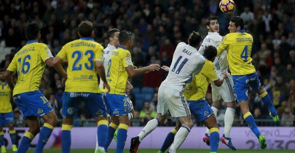 ¡La locura! Checa los seis goles del empate entre Real Madrid y Las Palmas