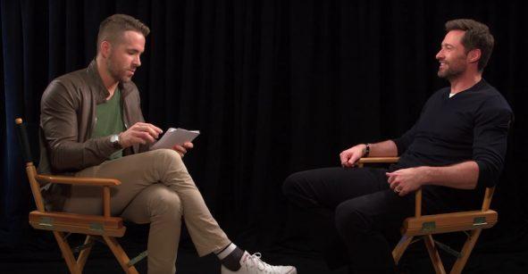 Imperdible: ¡El épico trolleo entre Ryan Reynolds y Hugh Jackman!