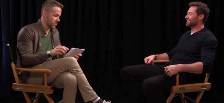 Guerra de trolls - Hugh Jackman vs Ryan Reynolds