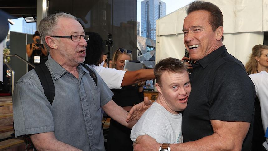 Schwarzenegger defiende épicamente los Juegos Olímpicos Especiales
