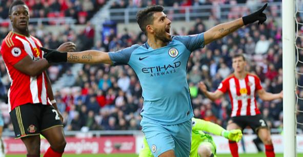 El 'Kun' Agüero vuelve a los más alto con el Manchester City