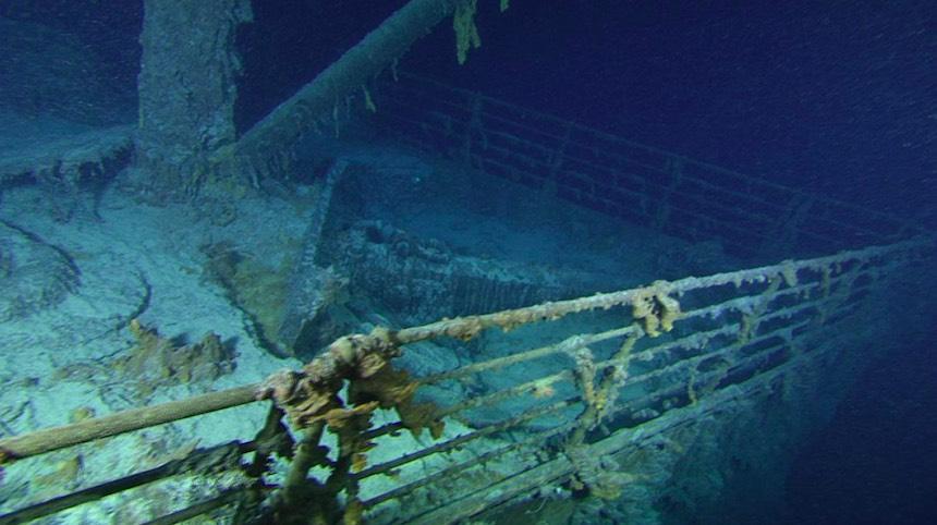 Titanic hundido