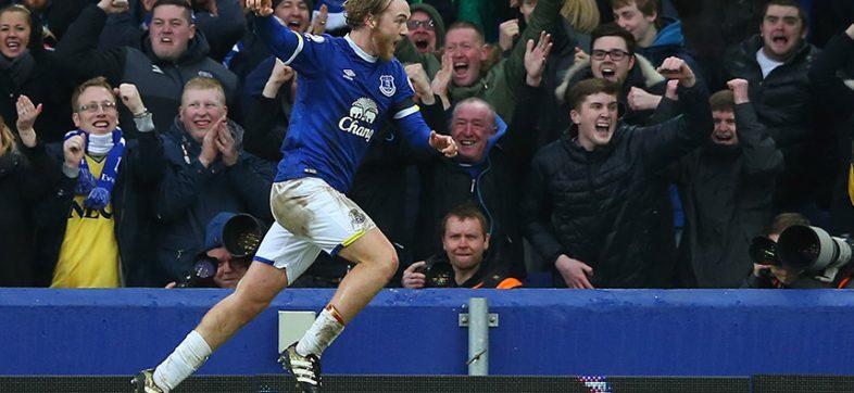 Tom Davies de Everton