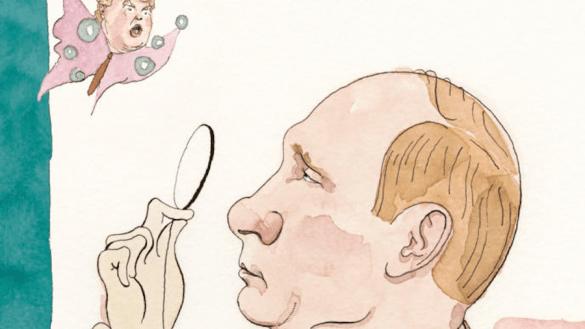 Vladimir Putin, Donald Trump, portada The New Yorker