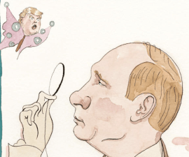 Vladimir Putin, Donald Trump, portada The New Yorker