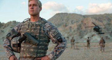Brad Pitt regresa a la guerra en el trailer de War Machine