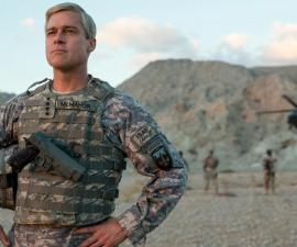 Brad Pitt en War Machine