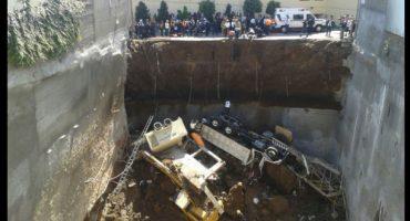 6 muertos por derrumbe en Álvaro Obregón