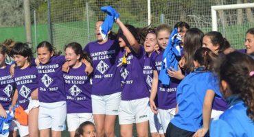 El equipo femenil de Lleida gana el título de una liga compuesta por puros hombres