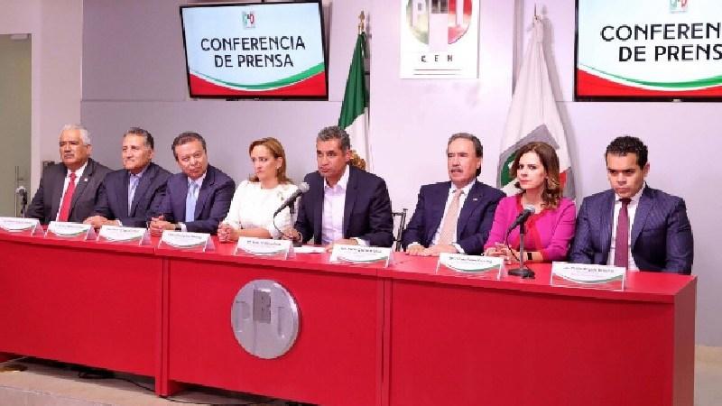 Conferencia de prensa, PRI pide renuncia de AMLO