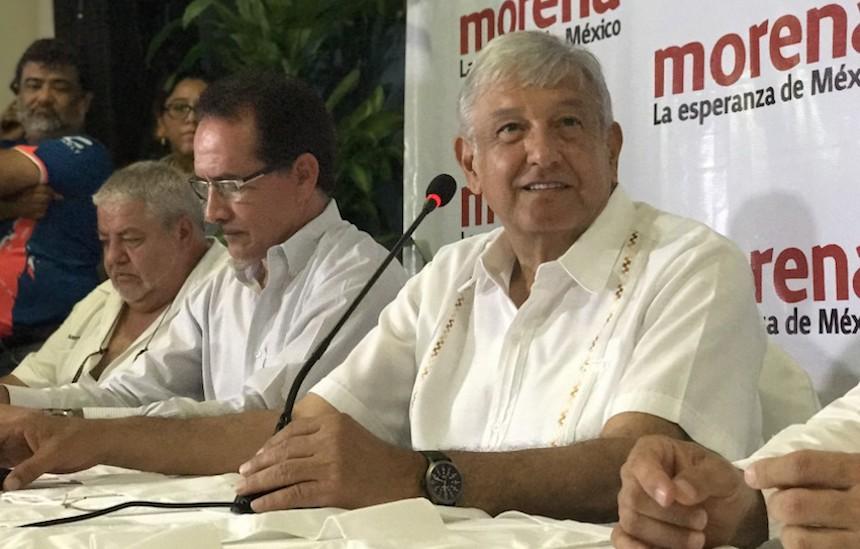 Andrés Manuel López Obrador (AMLO) indica que no recibió recursos de Javier Duarte
