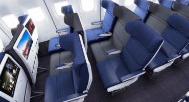 El diseño del infernal asiento medio en los aviones está por cambiar