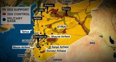 Estados Unidos lanza ataque aéreo en Siria en respuesta a ataques químicos