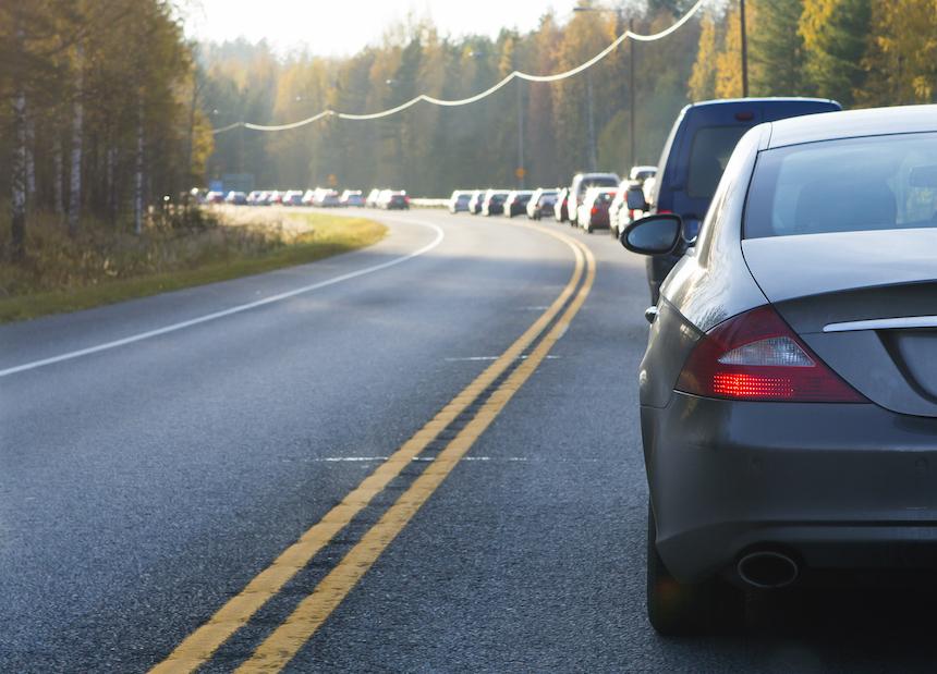 Accidente en autopista