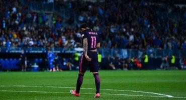 ¡Sorpresa en La Liga! El Málaga le pegó al Barcelona