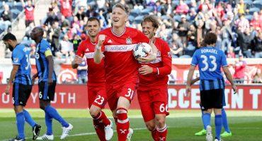 Checa el primer gol de Bastian Schweinsteiger con el Chicago Fire