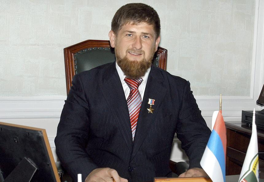 Ramzan Kadyrov, presidente de Chechenia