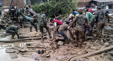 Avalancha en Colombia deja ya más de 250 muertos, se reactivan operaciones de rescate