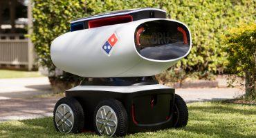 ¿Y la propina?: Domino's Pizza usará robots para hacer sus entregas