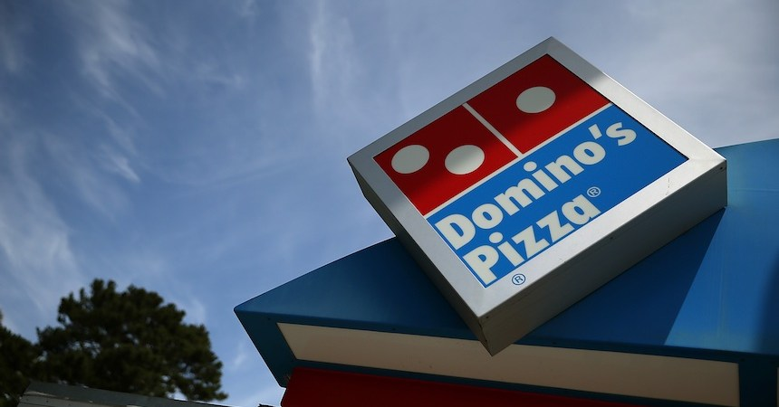 Inglaterra - Domino's Pizza