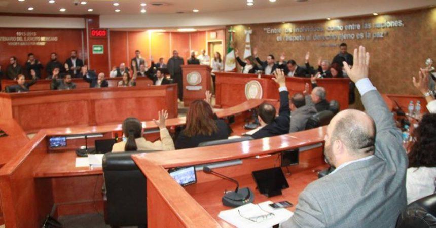 Sesión del Congreso de Baja California
